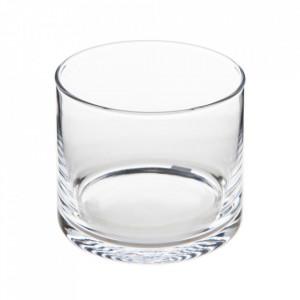 Pahar transparent din sticla 12x14 cm Jania Ixia