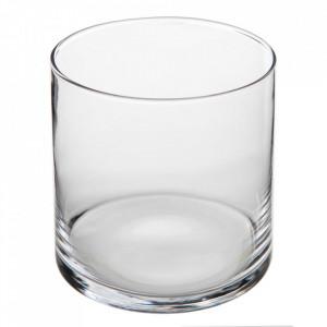 Pahar transparent din sticla 14x14 cm Jania Ixia