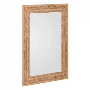 Oglinda dreptunghiulara maro din MDF 56x76 cm Ograna Ixia