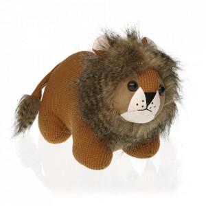 Opritor usa maro din textil Lion Versa Home