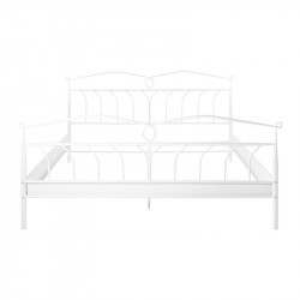 Cadru pat alb din metal 193x208 cm Line Actona Company