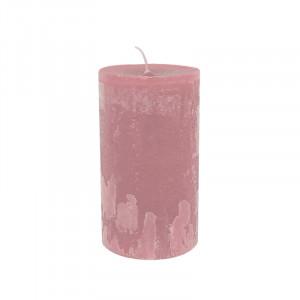 Lumanare roz din ceara parafinica 20 cm Michel LifeStyle Home Collection