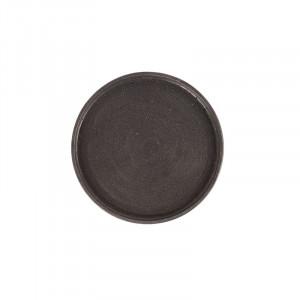 Tava rotunda neagra din rasina 35 cm Rudo LifeStyle Home Collection