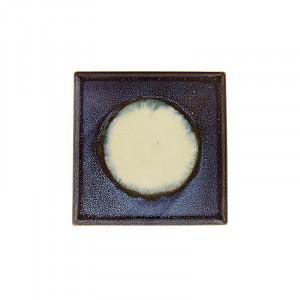 Tava patrata multicolora din ceramica 20x20 cm Linn LifeStyle Home Collection
