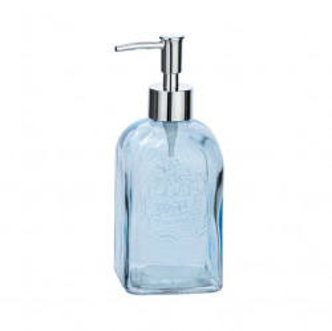 Dispenser sapun lichid albastru din sticla 500 ml Vetro Wenko