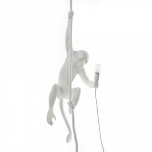 Lustra alba din rasina The Monkey Seletti