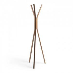Cuier maro din lemn 173 cm Benzara La Forma