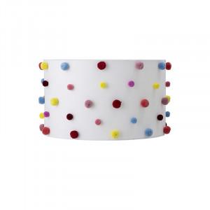 Abajur multicolor din poliester si bumbac Asuka Bloomingville Mini