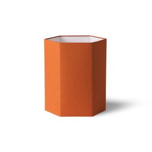 Abajur portocaliu din iuta Khalid Medium HK Living