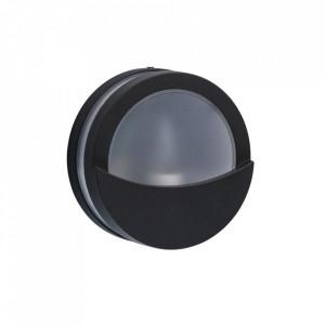 Aplica alba/neagra din metal si plastic pentru exterior Mercury MW Glasberg
