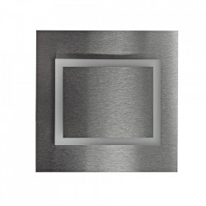 Aplica argintie din aluminiu si plastic Deco L Milagro Lighting