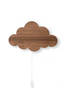 Aplica / Decoratiune luminoasa pentru copii Cloud maro Ferm Living