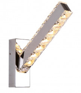 Aplica LED argintie din metal si sticla cu 4 LED-uri Prezzio Wall Maxlight
