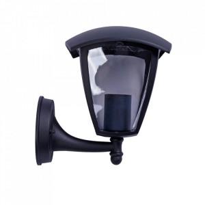 Aplica pentru exterior neagra din aluminiu Fox Milagro Lighting