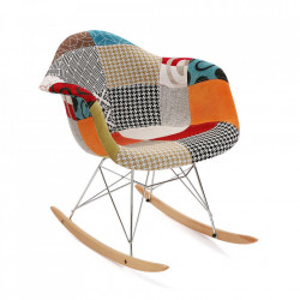 Balansoar multicolor din textil si metal Dana Embossed Versa Home