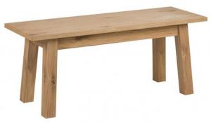 Bancheta maro din lemn 110 cm Chara Actona Company