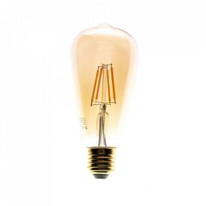 Bec cu filament LED E27 6W Kass Milagro Lighting