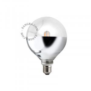 Bec dimabil LED E27 4W Fred Silver Filament Zangra