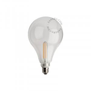 Bec dimabil LED E27 4W Roberta Clear Filament Zangra
