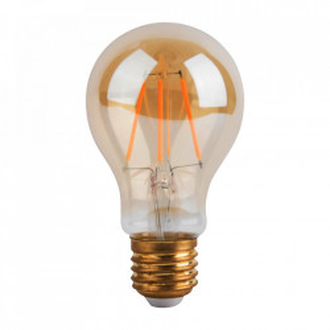 Bec maro chihlimbar cu filament LED E27 4W Classic Bulb Opjet Paris