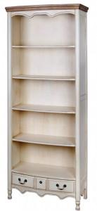 Biblioteca din lemn de arbore de cauciuc 192 cm Limena Livin Hill