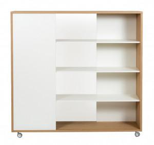 Biblioteca din PAL 148 cm Adala Woodman