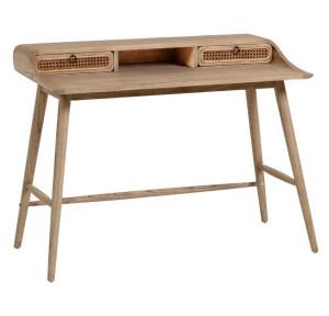 Birou maro din lemn mindi 60x110 cm Nalu Kave Home