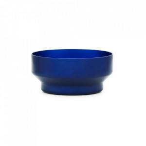 Bol albastru din aluminiu 13 cm Meta Normann Copenhagen