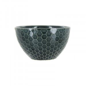 Bol gri din ceramica 13 cm Kristi Ale LifeStyle Home Collection