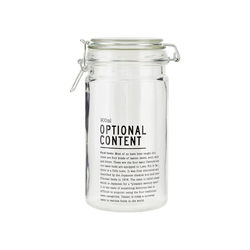 "Borcan sticla 900 ml ""Optional Content"" House Doctor"
