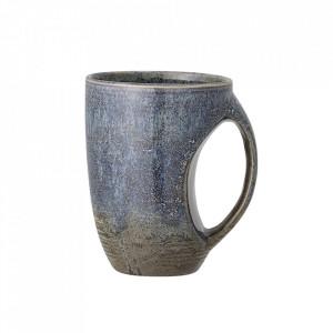 Cana albastra din ceramica 500 ml Aura Bloomingville