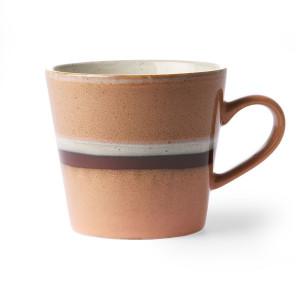 Cana multicolora din ceramica 300 ml Cappuccino Stream HK Living