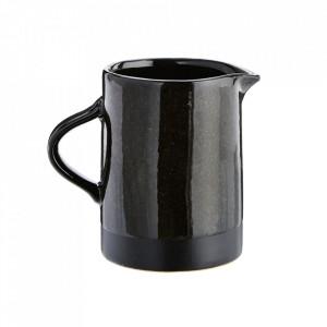Cana neagra din ceramica 8,5x11,5 cm Ujio Madam Stoltz