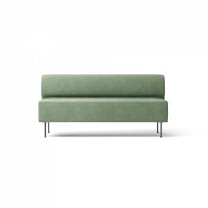 Canapea verde din textil si otel 165 cm Eave Madison Relo Menu