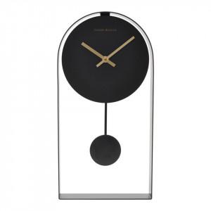 Ceas perete negru cu pendul 39 cm Art House Doctor