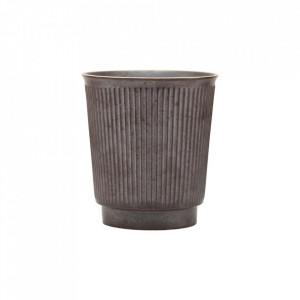 Ceasca maro din ceramica 8,7x9,7 cm Berica House Doctor