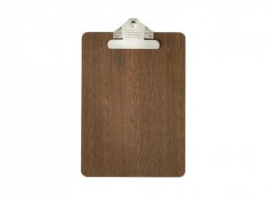 Clipboard maro din lemn Alec Smoked Oak A5 Ferm Living