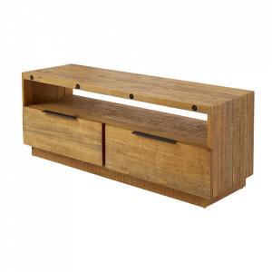 Comoda TV maro din lemn 150 cm Finca Invicta Interior