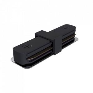 Conector electric negru din plastic pentru sina Track Accesory Black Maytoni