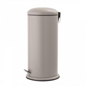 Cos de gunoi crem din metal 29,5x68 cm Irene Bloomingville