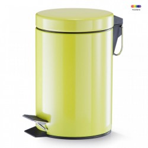Cos de gunoi verde din metal 3 L Pedal Bin Green Zeller