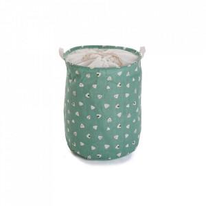 Cos de rufe multicolor din poliester 38x48 cm Green Laundry Versa Home
