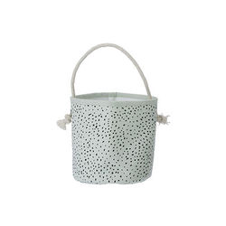 Cos din bumbac verde 16 cm Billy Mini Ferm Living