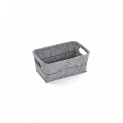 Cos gri din fetru Light Basket Versa Home