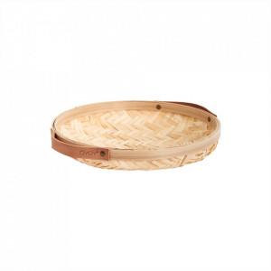 Cos pentru paine maro din bambus Sporta Bread Oyoy