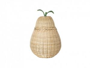 Cos rufe din ratan 35x59 cm Pear Ferm Living