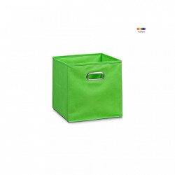 Cos verde din fleece Storage Box Green Small Zeller