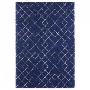 Covor albastru/crem din polipropilena Allure Archer Blue Cream Mint Rugs (diverse dimensiuni)