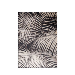Covor gri 170x240 cm Palm by Night Zuiver