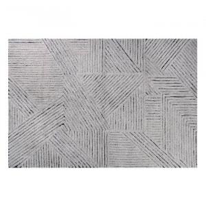 Covor gri argintiu/gri inchis din lana 170x240 cm Black Chia Lorena Canals